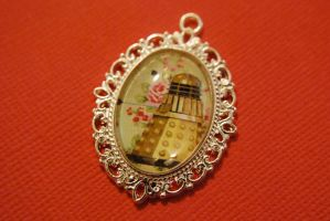 Doctor Who Dalek necklace by Lisa-Locket
