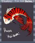 Hasu Fish Form by LotusKoi