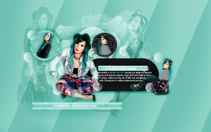 ++DemiLovato{psd} by CandyBiebs