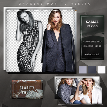 Pack PNG 02: Karlie Kloss. by WhenClouds