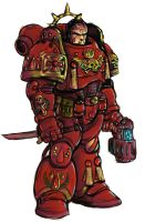 blood angel capt. by johnjackman