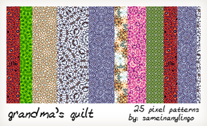 Grandma's Quilt by moonjuice