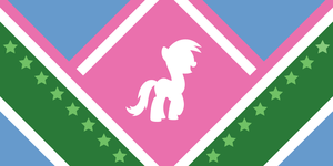 Ponyvale Flag Contest Entry #1 by ShiningWingPony