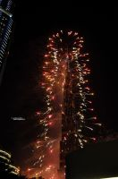Dubai new year by FW77