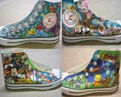 Disney Shoes by GreyRadian