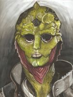 Thane Krios by xPoison-StitchesX