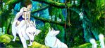 Princess Mononoke by bluesaga331