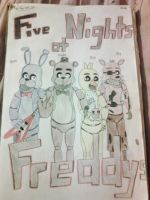 Five Nights at Freddy's by Redfangwolf21