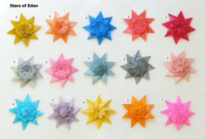 Stars of Eden, set 56-70 by Figuer
