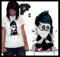 muzi on T-shirts :D by noapc