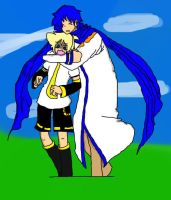 Len and Kaito **REDONE!** by AskLenKagamine02