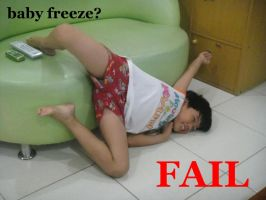 baby freeze fail by iamdeathzekid