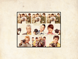 Big Bang - A Shot, A Day WP by J-Beom