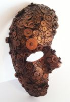 steampunk cogs mask by richardsymonsart