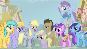 Whooves Family Portrait by Bronyman1995