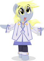 Derpy Hooves Colette by OstiChristian