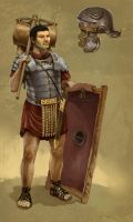 Roman Soldier by JonHodgson