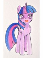 Watercolor Twilight by kilala97
