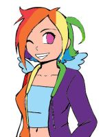 Rainbow Dash, Element of Loyalty by mare-itime