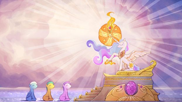 Lullaby for a Princess - ...who shone like the Sun by cmaggot