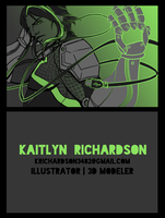 New Business Card by EvilFuzz