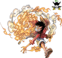 Monkey D Luffy Render 11 by RoronoaRoel