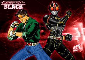 Kamen Rider Black by MikeNick