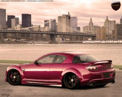 Mazda RX8 by tebidesign