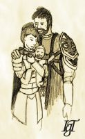 Talslade Family by Tebius