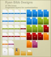 File Icons by ryanbdesigns