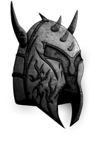 B And W Version Of The Logo by Lucifer666mantus