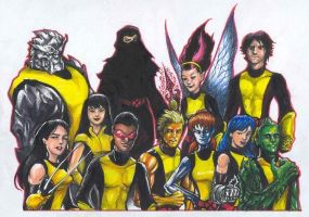 New X-Men by olybear