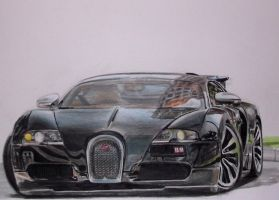 Bugatti Veyron Sang Noir. by And300ZX