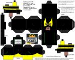 LCBH13: Phoenix Jones Cubee by TheFlyingDachshund