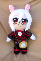 Comm - Peter White plushie by seradonna