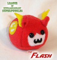 PuggleLeague - The Flash by callykarishokka