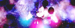 Facebook cover with MickeyMouse by Ieva1221