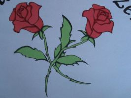 Sweet Roses with markers by freeke03