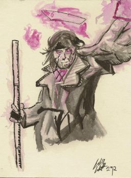 Gambit Sketch by WillWatt