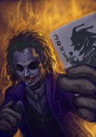 JOKER_speedpaint by chrisnfy85