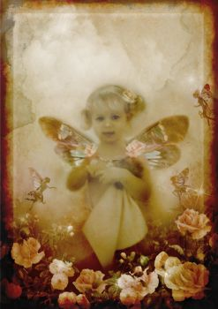 Pink Fairy Vintage by Tiger-tyger