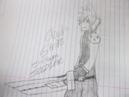 Cloud strife 1st class soldier by pikafoomoo