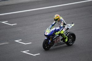 Rossi on Track by Joscail