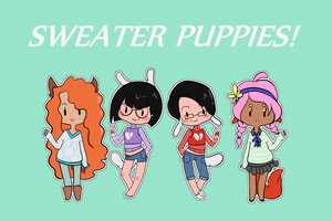 Sweater Puppies Closed! by TechSupportGirls