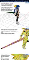 MMD Tutorial: Dragon's Tail - Adding Tail Physics by Trackdancer