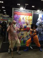 Master Roshi and Goku by Closer-To-The-Sun