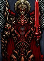 MICHAEL THE ARCHANGEL - ICON by The-Last-Phantom