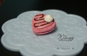 Heart Macaron by Wingg