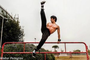 Marshall Law Cosplay Free Parkour in Real Life by LeonChiroCosplayArt