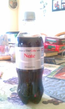 Name on Diet Coke by Nateumstead